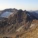 Blick vom Gemsstock: Das rechts sind die Reste des Schwarzbachfirns - ein Gletscher?