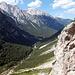 Beim Abstieg auf ca. 1300m. Blick nach NO ins Vrata-Tal.