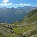 Von links Cima de la Bedoleta (2627m), Piz Pian Grand (2689m), Piz d'Arbeola (2600m), Cima dei Cogn (3063m), Cima Rossa (3161m)