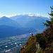 Steinkreuz auf Prampé > Le Catogne, Mont Blanc
