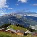 Spundätscha - Aussichtsterrasse über dem Rheintal