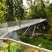 eine relativ neue Brücke über die Trême