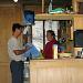 Die super Hüttenwarte Timmy und Sandra, die uns in der Balmhornhütte verwöhnt haben