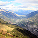 En descendant à l'alpage de l'Arpille... le Valais.