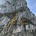 Die zweite Kletterstelle