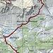 GPS-Track. In elektronischer Form stimmen irgendwie die Höhenangaben nicht genau. Die total 645 hm dürften aber stimmen.
