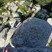 Auf dem Felsblock an der Spitze der Madonuccia.