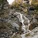 Einstieg beim Rotschitza Wasserfall