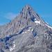 Immer wieder schön: die formvollendete Pyramide des Bietschorns