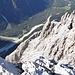 Tiefblick zu Talschlusshütte und Dolomitenhof