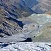 Gletscherzunge und Vorfeld