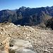 Kümmerliche Gletscherreste