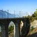 Immer wieder trifft man auf eindrückliche Viadukte
