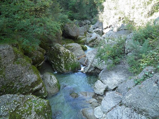 Buchenegger Wasserfälle-Nagelfluhgelände