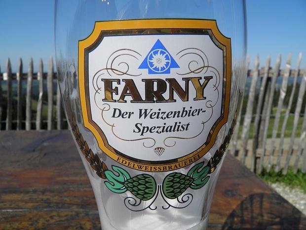 auch im Allgäu gibt es edles Weissbier, hier an der Waltners Alpe