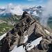 Nochmals die zweite Gipfelerhebung