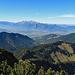 Blick über das Rheintal hinweg zum Alpstein