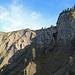 die mächtige Felswand vom Salzbödenkopf