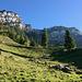 Ankunft in der Alp Eu.