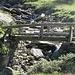 Ponte in legno all'Alpe di Pozzo.