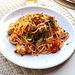 <b>Pranzetto con spaghetti al sugo di pesce... e</b>