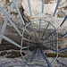 Überraschend massive Leiter am Col Pochet