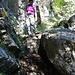 Steiler Abstieg von Geitenberg zur Alp Bärensol
