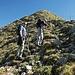 Chaeppi und Chris im Aufstieg zum Risetenstock