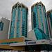 Gebäudeensemble im Zentrum von Astana.