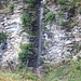 Wasserfall eines Nebenbaches in der Palüschlucht