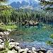 Der Saoseo-See, wohl einer der schönsten Bergseen