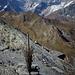 Sulla cima della Tete Fenetre.