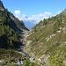 Taleinschnitt Alpe Cansgei