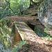 Vidimské lávky, Brücke 1 (keine offizielle bzw. vollständige Zählung)