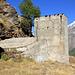 Ruines des anciennes installations de Grande Dixence.