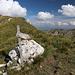 Unterwegs zwischen Cima di Vall'Organo und Sella di Leonessa - Wir sind richtig. Der Endpunkt unserer Wanderung befindet sich unweit von ausgeschilderten Rifugio A. Sebastiani.
