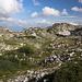 Unterwegs zwischen Cima di Vall'Organo und Sella di Leonessa - Zwischendurch durch schönes karstmäßiges Gelände.