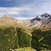 Blick von der K2 Hütte ins Zaytal