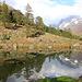 Le petit lac de Fafleralp.