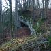 N-Kante des Eichlenbergs. Felsen oben.