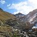 gegen Ende wird der Anstieg steiler und nässer - kurz vorm Pass hat's dann fast eine geschlossene Schneedecke
