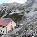 Berglhütte mit überschaubarem Andrang