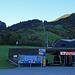 Am Morgen um ca. 8.35 Uhr an der Talstation der Palüdbahn, anstehen musste ich nicht, ausser dem Personal war weit und breit noch niemand zu sehen.