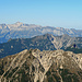 und zum Säntis im Alpstein und zum Wanderweg vom Fürstensteig zu den Drei Schwestern