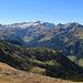 Blick vom Amatschonjoch in Richtung Liechtenstein