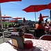 ... Iltios angesteuert und die Oktobersonne auf der gut besuchten Terrasse bei einem Kaffee genossen<br />