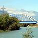 Eisenbahnbrücke vor Massongex