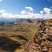 Der Blick schweift Richtung Valle del Braulio, Bormio. Die Passstraße dorthin ist mindestens genauso spektakulär wie auf der Südtiroler Seite.