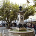 Brunnen auf dem Place du Mal Foche
