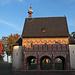Die Westseite der karolingischen Torhalle.